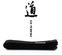 2017 new upgrade MOOTO quality double-circle coach Tae Kwon Do black Belt, embroidery Karate Judo Aikido martial arts black belt