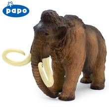 Papo wild animal planet model Mammoth hand-done animal model(China)