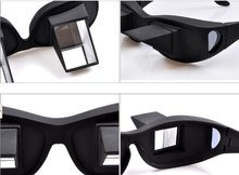 MYTL Horizontal Glasses Refraction Glasses Bed Prism Spectacles Glasses&Free CableTie(China)