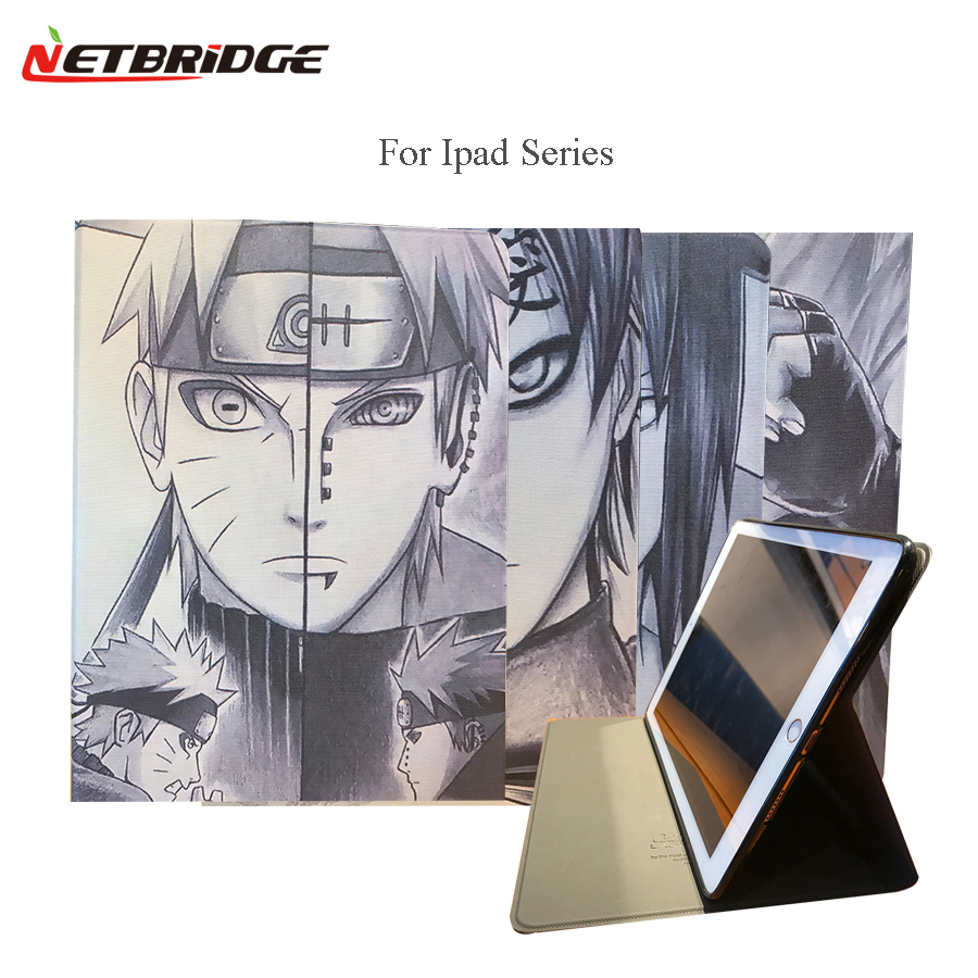 For Ipad Air 2 Case Ipad 6 Case PU Leather Flip Smart Stand Tablet Housing Full Body Protective Shell Shockproof Ninjia Pattern<br><br>Aliexpress