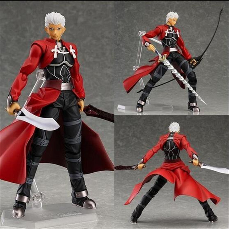 Anime figma 223 Fate/stay night Archer PVC Action Figure Collectible Model Toy 15cm Q042<br><br>Aliexpress