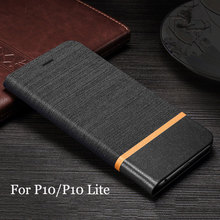 High quality Flip Case for Huawei P10 P10Plus Cover case leather Wallet Card Slot Stand Leather Shell for Huawei P10 Lite