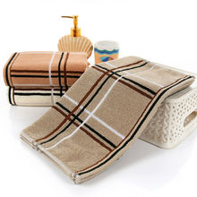 Simanfei 2017 New Genuine Striped Face Towel High Quality 40cm*95cm Leisure Plaid Brand Towels 170g