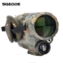 New Arrival 5X40 Magnification Digital Night Vision Monocular Camouflage Spotting Scope Camera Video Recorder Function Telescope