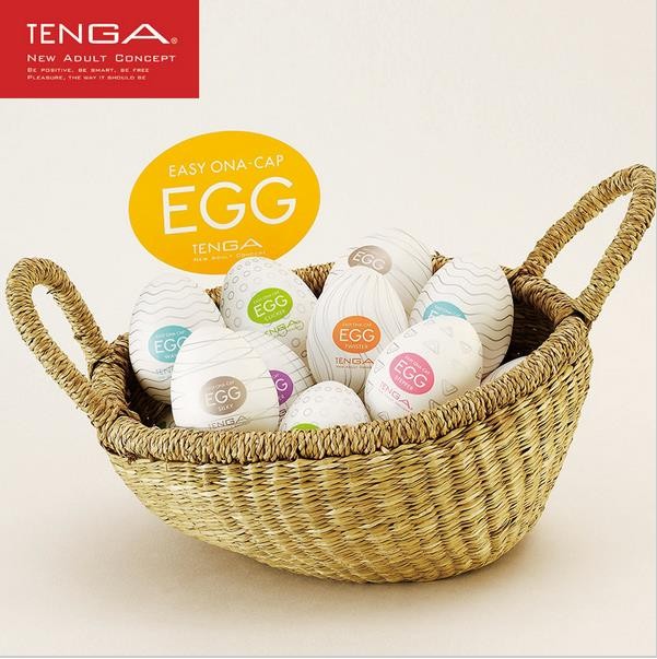 Genuine TENGA EGG japan male masturbator artificial vagina real pussy silcone pocket pussy adult sex toys for men(China (Mainland))