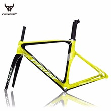 Bicycle road bike carbon frame bicycle Framesets 480/500/520/540/560mm carbon road aero frame 700c Wheels bicycle parts