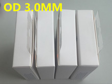 1000pcs 1m OD:3.0mm AAAA Quality USB Data Charger Cable With aluminum foil for iphone 5 6 7 8 x with retail box(China)