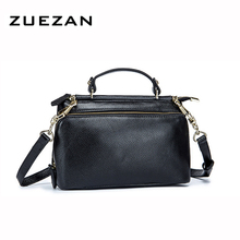 24*17*10.5cm, Everyday Messenger Bag,Women Genuine Leather Shoulder Bag, Sweet Girl Real Skin Cross body bags, A159(China)