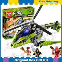 339757 Ninja Rattlecopter Building Blocks ZX Lloyd Garmadon Fang-Suei Children Toys Compatible lego - Cheery baby store