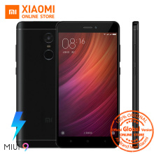 "Global Version Xiaomi Redmi Note 4 4GB 64GB Snapdragon 625 Octa Core Fingerprint ID 4100mAh Smartphone 5.5"" 1080P 13MP MIUI 9(China)"