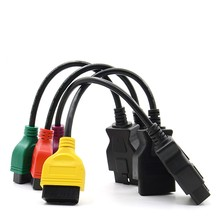 4PCS/lot mewest  OBD2 Connector Diagnostic Cable For Fiat ECU Scan r Fiat 500 Punto Lancia