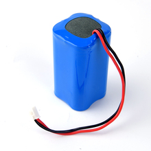 1pc 14.8v 2200mah lithium battery pack 4pcs 18650 li-ion battery for 14.8v sweeping machine battery vacuum cleaner flashlight
