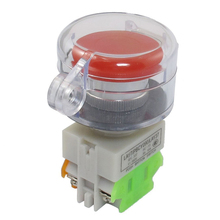 Pro Emergency Stop Switches With Cover AC 660V 10A Red Mushroom Momentary Push Button safety Switch Electrical Equipment