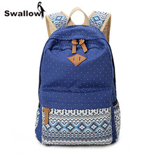 High Quality Ethnic Women Backpack for School Teenagers Girls Vintage Stylish School Bag Ladies Backpack Female Purple Back Pack