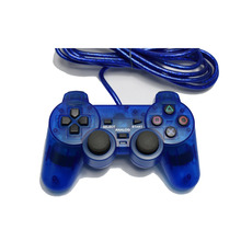 Wired Game Controller for Sony PS2 Playstation 2 Joypad Pad wired gamepad Shock long cable joystick NYGACN NJP205(China)