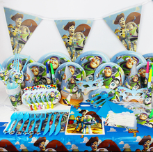 2017 Best Selling 78pcs Toy Story Cartoon Theme Birthday Party Decoration Kids Favors Set Baby Shower Happy Party Supplies(China)