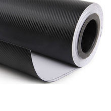 "2017 New 24""x60"" 60x150cm 3D Black Car Self Adhesive Carbon Fiber Vinyl Sticker DIY High Quality"