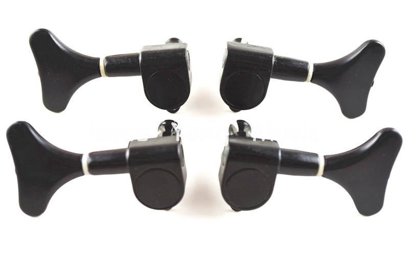 Niko Black Electric Bass Sealed Tuning Pegs Tuners Machines Heads 2L+2R Free Shipping Wholesales<br><br>Aliexpress