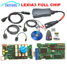 Lexia3 Full Chip Newest Diagbox V7.83 Firmware 921815C 12pcs Relays 7pcs Optocouplers Lexia 3 PP2000 For Peugeot&Citroen(China)