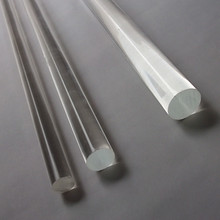 Free Shipping(200 Roots/Lot) OD6x1000mm Wholesale Acrylic Clear Acrylic Plastic Acrylic Rods Can Cut Any Size