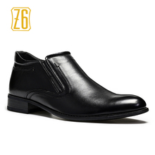 Size 40-45 men boots Top quality handsome comfortable Z6 brand leather boots #1R2372