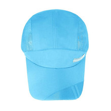 2017 Most Popular Adult Men And Women Mesh Hat Quick-Dry Collapsible Baseball Cap 100% Brand New and High Quality A8