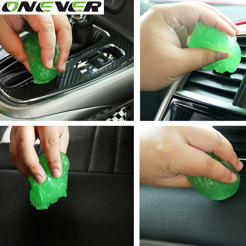 1PC car cleaning products magic cyber super clean glue outlet cleaning car washer supplies foam lance microfiber sponge Gel(China (Mainland))