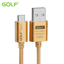 GOLF Micro USB Data Sync Charger Cable For Samsung S2 S3 S4 S6 S7 Edge Note 2 Honor 6 Plus LG G3 G4 Android Phone Charging Cable