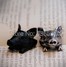 Silver custom personality Marine corps man silver ring bulldog ring ,army ring wholesale