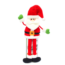 Happy New Year Christmas Decoration Supplies Red Wine Bottle Cover  Decoration Ornament Dinner Party Table Decor Gifts JJ932