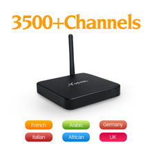 Buy Global IPTV 3500 Channels Subtv Account Subscription X98PRO Android 6.0 TV Box Smart IPTV Europe Arabic Sweden French UK Top Box for $79.98 in AliExpress store