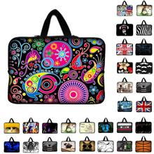 7 10.1 12 13.3 14 15.6 17.3 inch Laptop Bag Neoprene Pouch Cover Bags For Tablet Mini PC Fashion Case For Lenovo HP ASUS(China)