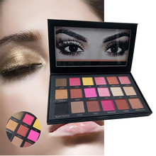 18 Colors Set Women Makeup Eyeshadow Palette Eyebrow Eye Shadow Cosmetic Shimmer Matte Glitter Diamond Pigment Eye Shadow