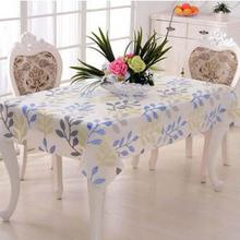 Oil waterproof Table Cloth Country Style Flower Print Multifunctional Rectangle Table Cover Tablecloth Gift 3
