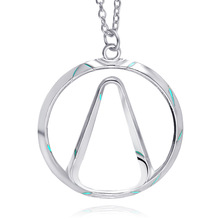 Game Bijoux Handmade Borderlands logo necklace Vault Symbol Choker pendant Necklace Fashion Jewelry For Women and men