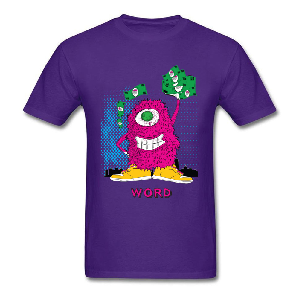 One eyed monster graphic t-shirt hoodies sweatshirts and more_purple