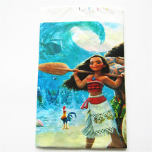1pcs/lot Moana Plastic Tablecloth disposable tablecover cartoon tablecloth event party supplies birthday party decorations
