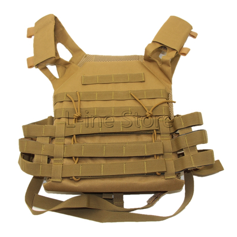 Outdoor Sports Outdoor Military Body Combat Assault Waistcoat Tactical Molle Vest Plate Carrier Vest<br>
