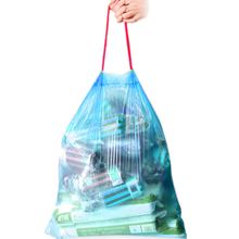 30pcs/roll Stringing Thicken Kitchen Utensil Household Automatic Trash Can Bin Rubbish Garbage Plastic Bag