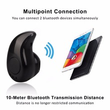Mini Wireless Earphone Small Stereo Earbuds Hidden Invisible Earpiece Cordless Hands Free Headphone(China)