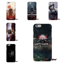 The Witcher 3 Wild Hunt Poster Soft Silicone Case For Huawei G7 G8 P8 P9 Lite Honor 5X 5C 6X Mate 7 8 9 Y3 Y5 Y6 II