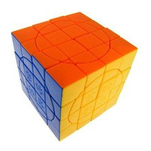 Brand new high quality DaYan MF8 No.3 4x4x4 Crazy Tiled Magic Cube Black III   Puzzle Cube Educational Toys Children Gift Toy