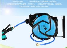 Professional garden supplier garden 10m+1m automatic rewind water hose reel with CE and ROHS