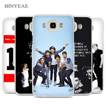 BINYEAE One Direction hot best design Cell Phone Case Cover for Samsung Galaxy J1 J2 J3 J5 J7 C5 C7 C9 E5 E7 2016 2017 Prime(China)