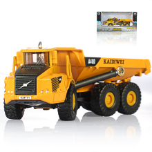 Alloy car Truck Model 1:50 Scale Transport truck Model Toy Six Wheels Loader Model Toy Collection