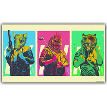 Hotline Miami  Artwork - Video Game Poster Print Wall sticker Home Decoration Wallpaper YX278