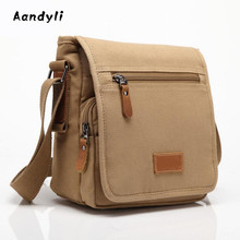 2017 Men's Crossbody Bag Ipad Canvas Messenger Bags Man Shoulder Bag Leisure Bag