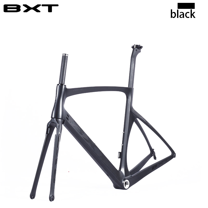 2017 BXT carbon bike frame 960g light UD weave bike frameset new design with fork free shipping di2 bike carbon road frame(China (Mainland))