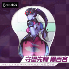 Over Watch Widowmaker Anime 3D Mouse Pad Soft Buttock Gaming Mousepad 26*22*3cm