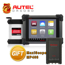 100% Original AUTEL MaxiSys Pro MS908P Car Diagnostic / ECU Programmer with J2534 reprogramming box with WiFi + Maxiscope MP408(China)